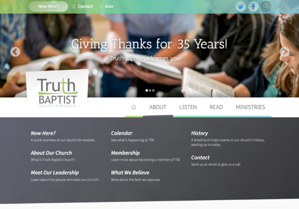 Truth Baptist Church Home Page